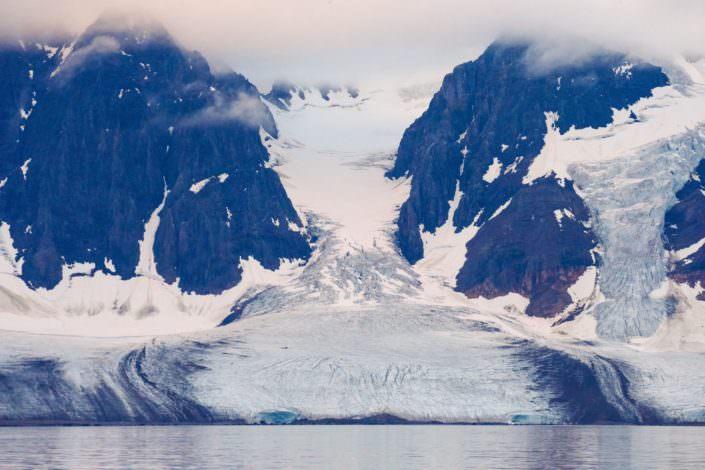 Glacier Svalbard 11-08-2015