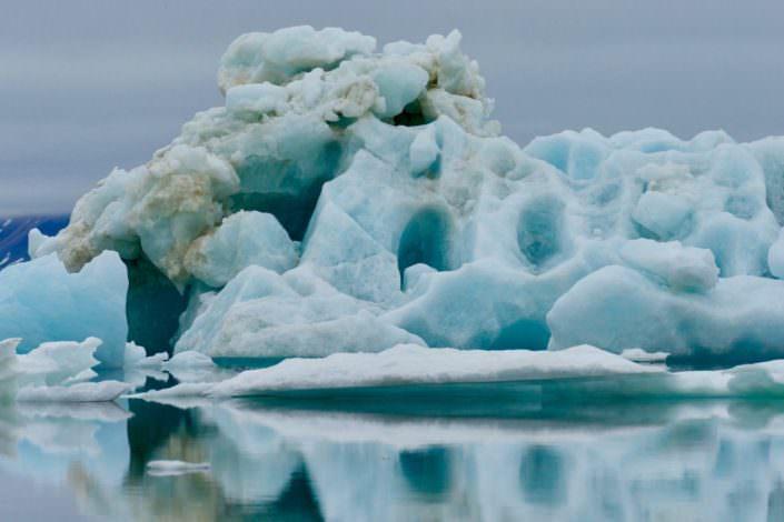 Iceberg Svalbard August 2015